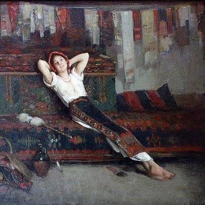 Nicolae Grigorescu - Fata cu zestrea ei