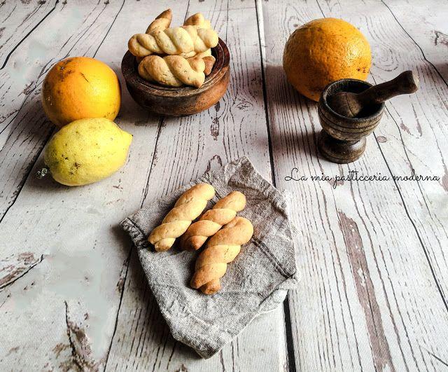 La mia pasticceria moderna: Biscotti treccine siciliane