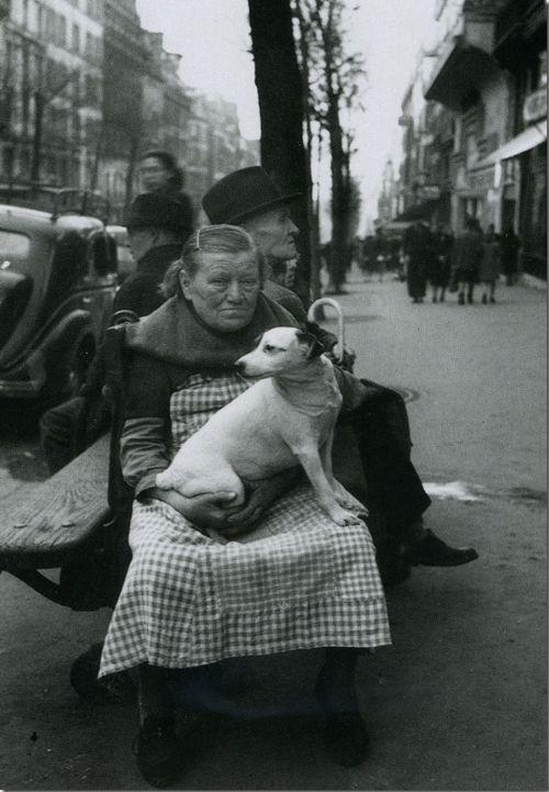 Avenue de Clichy, Paris, 1948   Édouard Boubat