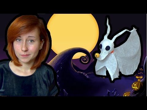 Halloween Ghost Tutorial - ZERO - Miasteczko Halloween - YouTube