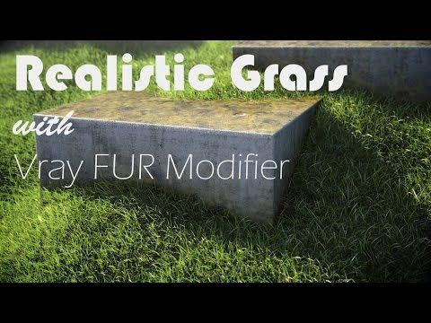 Realistic Grass with Vray Fur Modifier - Evermotion.org