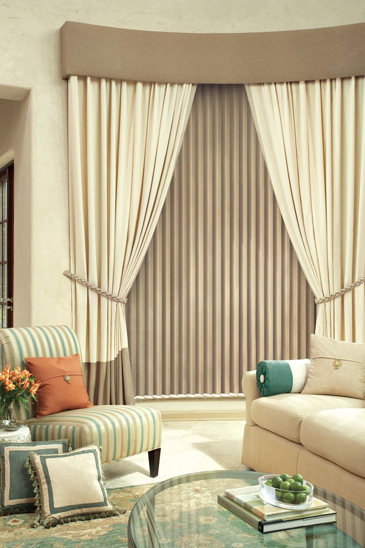 Hunter Douglas Cadence Vertical Blinds   Classic And Traditional