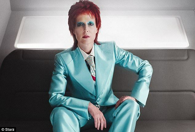 Gillian Anderson transforms into David Bowie in TV show American Gods. The episode titled 'Lemon Scented You' airs Sunday