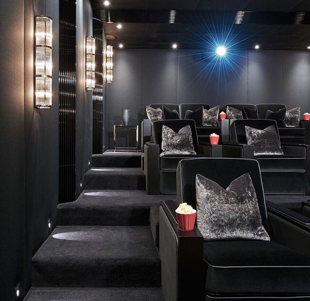 Home Theatre Decorations: 134 Best INTERIORS : MEDIA ROOMS Images On Pinterest