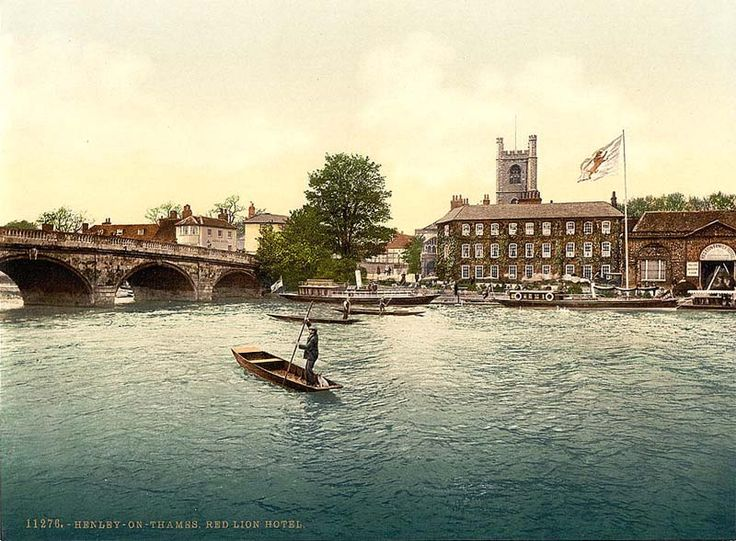Old photo of my lovely town Henley On Thames