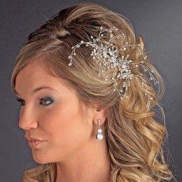Bridal headpiece Aurora - Georgia Dristila Accs