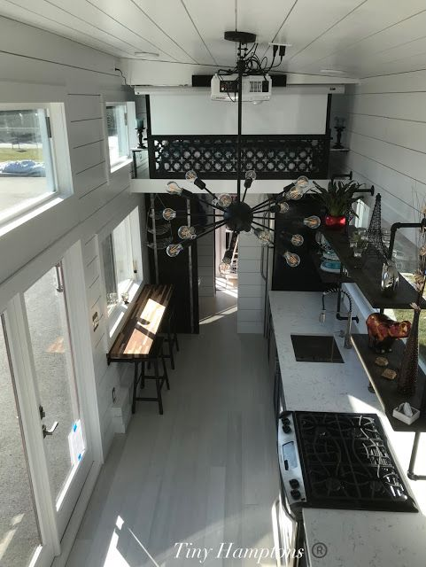 The Bridgehampton: a functional and beautifully designed tiny home from Tiny Hamptons LLC