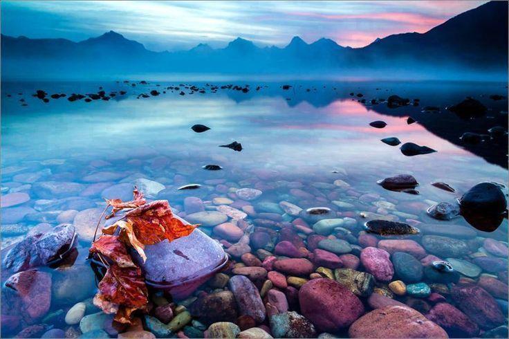 Lago McDonald en Montana, - Cerca con Google