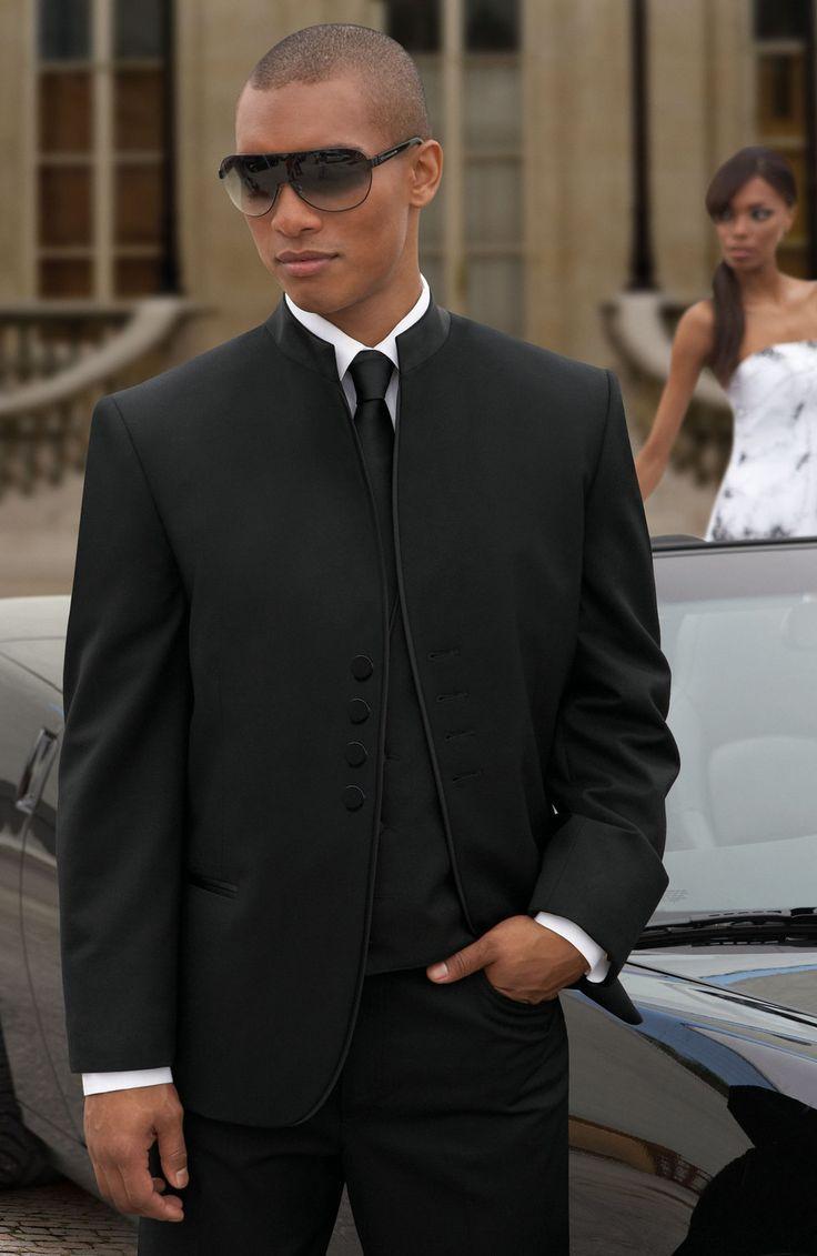 Best 25+ Black suit groom ideas on Pinterest | Black tux ...  Best 25+ Black ...