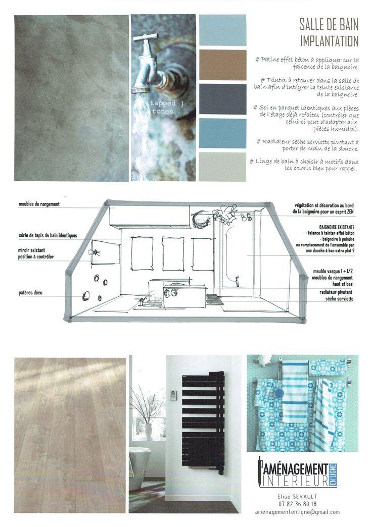 http://www.amenagement-interieur-en-ligne.com/ Nouvelle décoration pour cette salle de bain