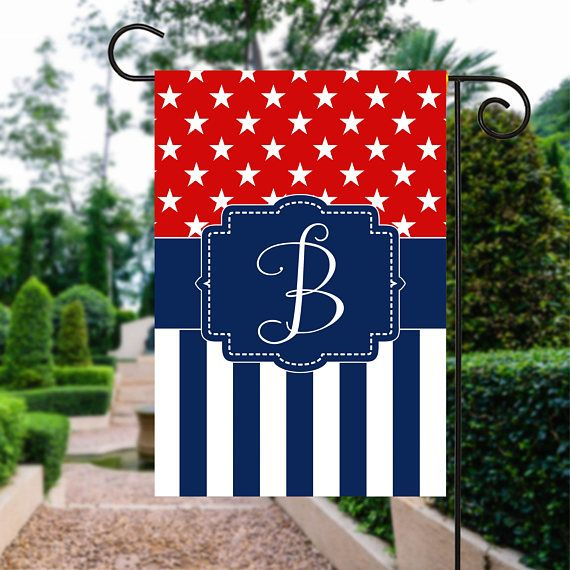 Memorial Day Flag | Red White and Blue Flag | th of July Flag | Patriotic Flag | Personalized Flag | Garden Flags | Patriotic Decor  #YardSign #4thOfJulyFlag #RedWhiteAndBlue #FourthOfJuly #PatrioticFlag #GardenGift #GardenFlags #GardenFlag #GardenSign #PersonalizedFlag