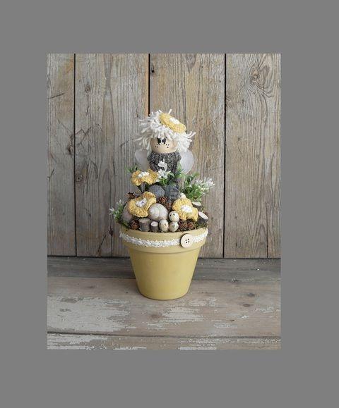 Tavasztündér akcióban: Hanna - asztaldísz, Dekoráció, Otthon, lakberendezés, Meska