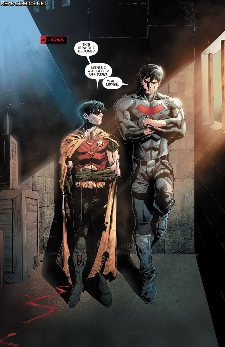 Red Hood and the Outlaws (2016) 9 | I love Jason so much sometimes, like is that normal to love a fictional character that much?