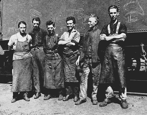 Circa 1925 cool guys.