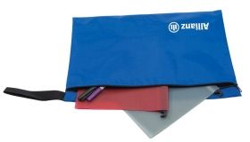 Promotional Products Ideas That Work: Nylon Case 18x12. Made in Canada. Get yours at www.luscangroup.com