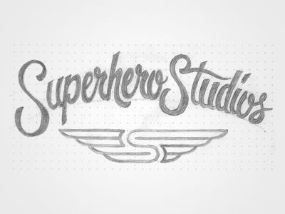 Superhero Sketch (Animated)