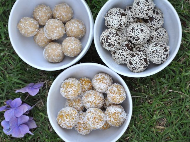 3 Power-Packed Nut-Free Bliss Balls Recipes