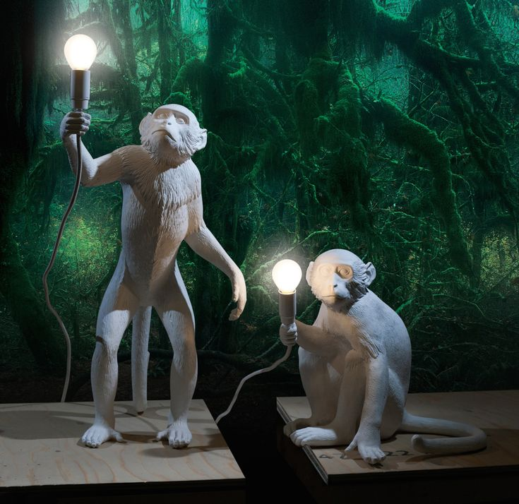Lampy Seletti Monkey