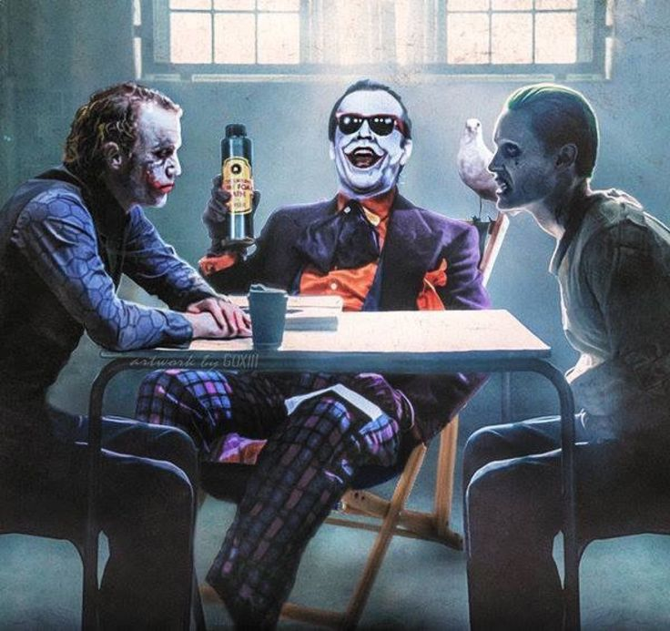 Genial imagen de los Jokers