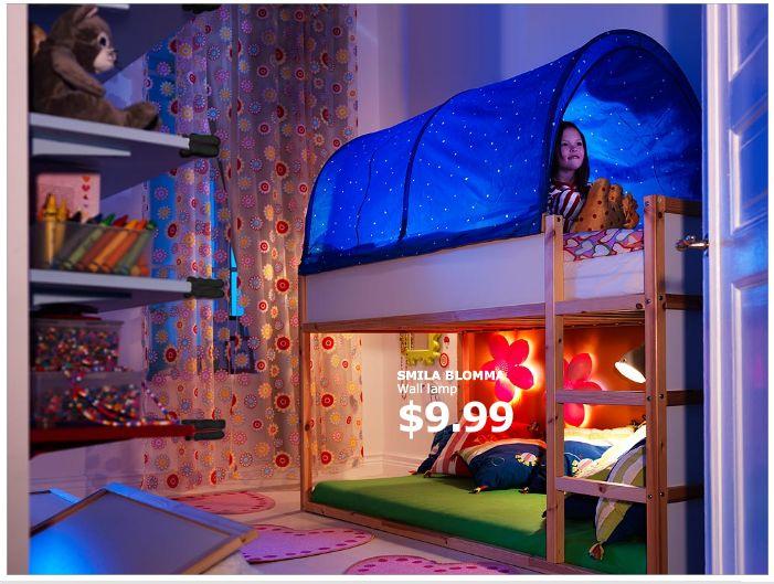 Ikea Kura Bed Canopy Thing This Remains My Main