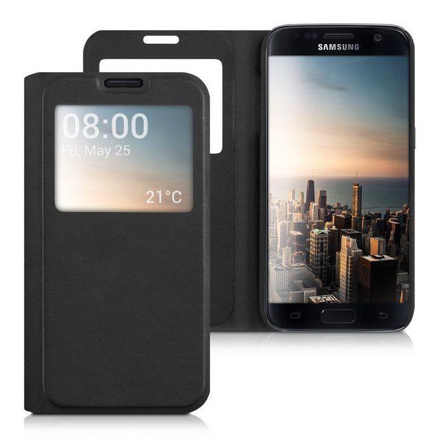 Handyhulle Hulle Fur Samsung Galaxy S7 Bookstyle Handy Case Schutzhulle Aus Kunstleder Mit Sich Handy Case Schutzhulle Und Samsung