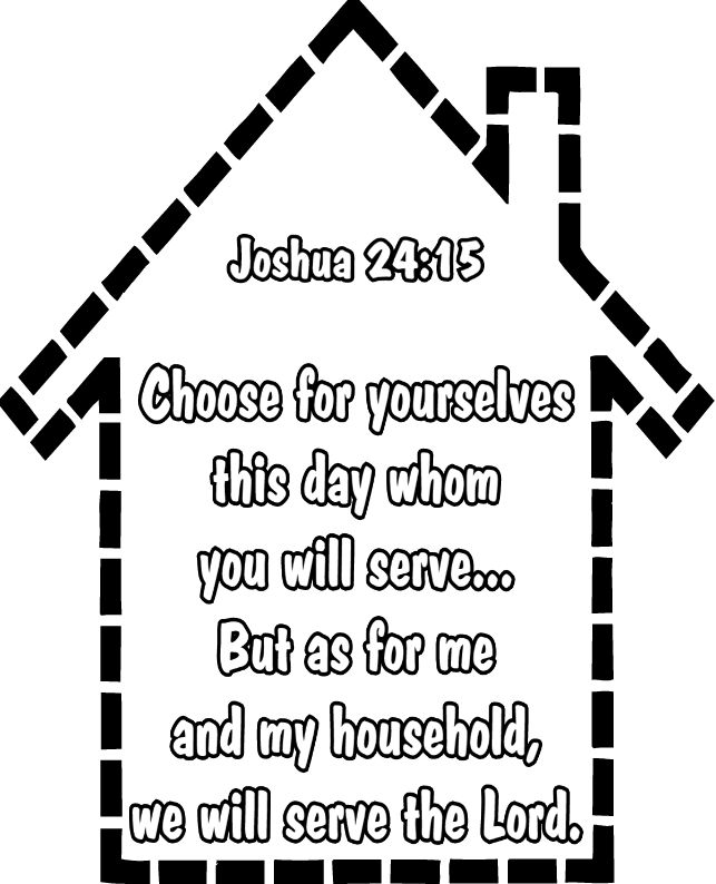 joshua 24 coloring pages - photo#24
