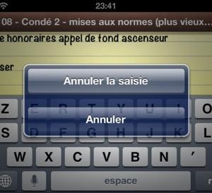 Secouer pour annuler sur iPhone, iPad et iPod touch
