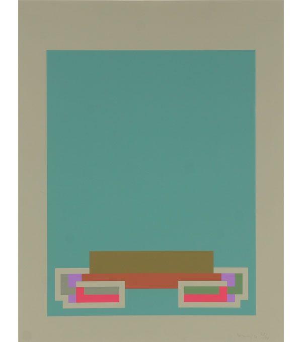 Robyn Denny screen print