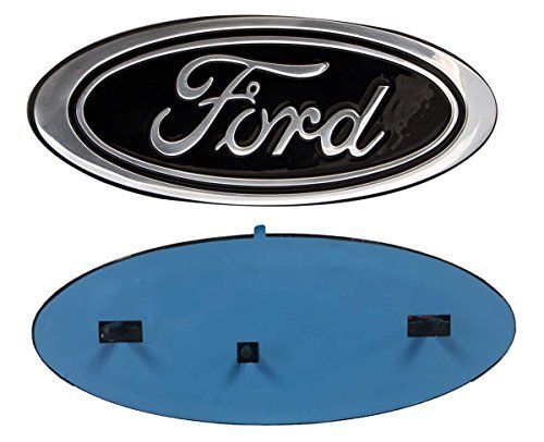 """2005-2007 Ford F250/F350 Super Duty Black Oval 9"""" X 3.5"""" Front Grille Replacement Badge Emblem Medallion Name Plate - https://www.caraccessoriesonlinemarket.com/2005-2007-ford-f250f350-super-duty-black-oval-9-x-3-5-front-grille-replacement-badge-emblem-medallion-name-plate/  #20052007, #Badge, #Black, #Duty, #Emblem, #F250F350, #Ford, #Front, #Grille, #Medallion, #Name, #Oval, #Plate, #Replacement, #Super #Enthusiast-Merchandise, #Ford"""