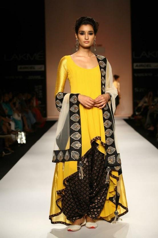 Payal Singhal - Lakme Fashion Week SR 2013