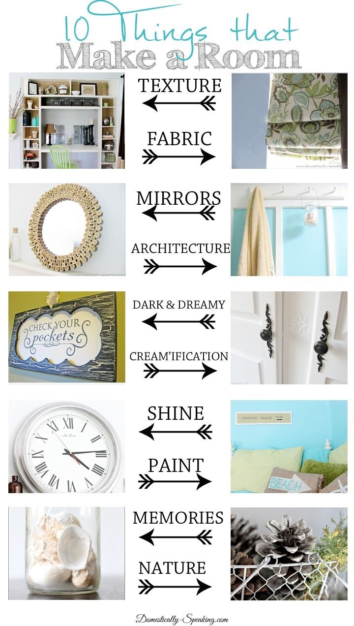 Need some Decorating Help? 10 Things that Make a Room