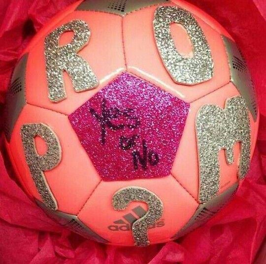 Cute soccer promposals