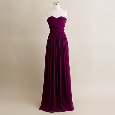 J. Crew bridesmaid dress.  Love the color. YES MY BRIDEMAIDS ARE GOING TO WEAR THIS :D