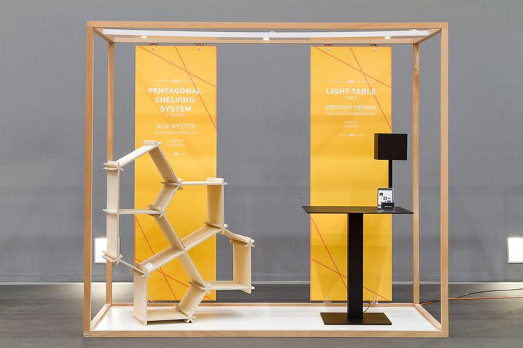 Interesting design for a small space. #exhibit #booth #tradeshow   Trade Show booth   Pinterest