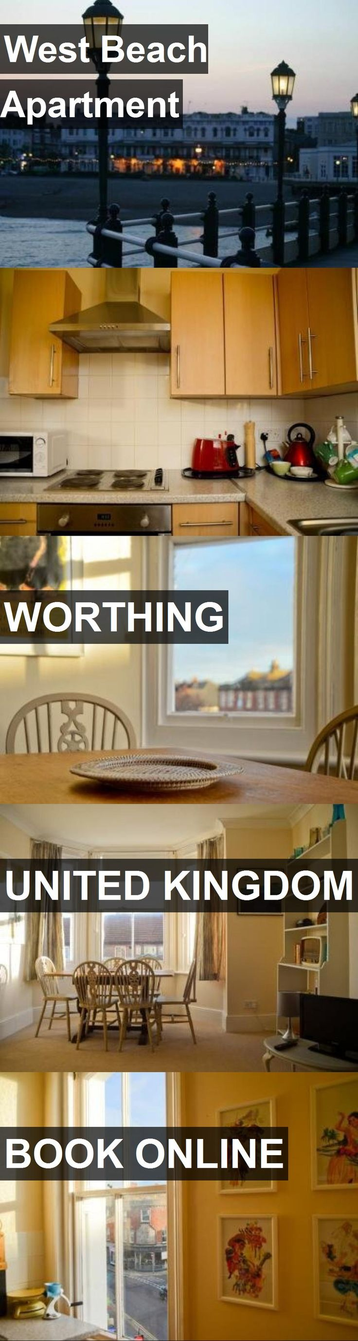 West Beach Apartment in Worthing, United Kingdom. For more information, photos, reviews and best prices please follow the link. #UnitedKingdom #Worthing #travel #vacation #apartment