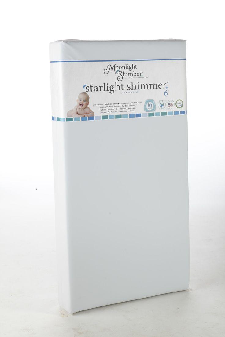 "Shimmer All Foam 6"" Crib Mattress"