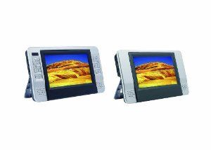 Sylvania SDVD8727 7 Inch Dual Screen Portable DVD Player. by Curtis  http://www.60inchledtv.info/tvs-audio-video/portable-dvd-players/sylvania-sdvd8727-7-inch-dual-screen-portable-dvd-player-com/