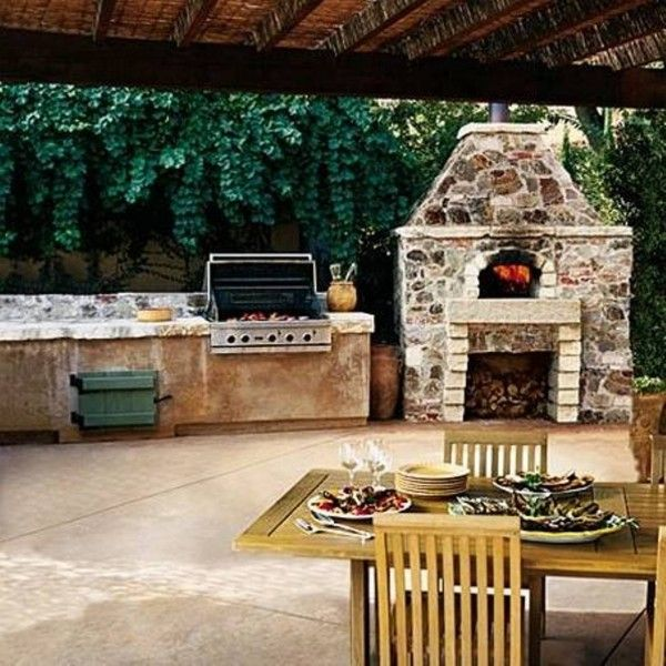 Backyard Retreats Ideas : kitchen backyard decorating ideas  Backyard Retreats  Pinterest