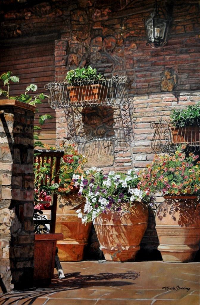 Tuscan Porch Scottsdale Salon Of Fine Art Garden Gateterracottatuscan Decortuscan