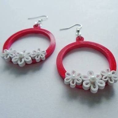 Image result for quilled earrings online