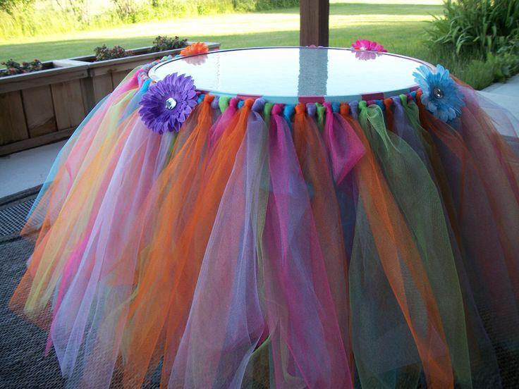 Princess Playroom Tutu Tea Table