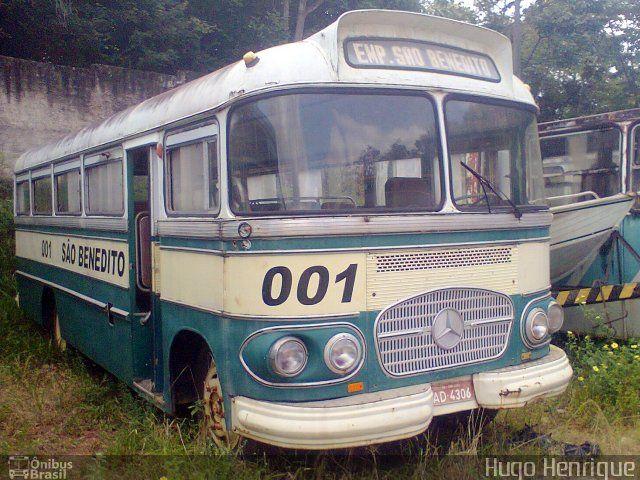 Ônibus da empresa Empresa São Benedito, carro 001, carroceria CAIO Bossa Nova, chassi Mercedes-Benz LP-321. Foto na cidade de São Luís-MA por Hugo Henrique, publicada em 06/10/2013 11:50:47.
