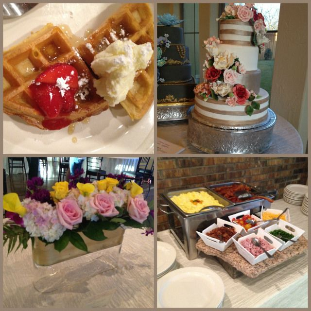 Breakfast And Brunch Station From Our Open House At Chapel At Ana Villa What A Great Option For Your Afternoon Wedding Dallas Wedding Venues Afternoon Wedding