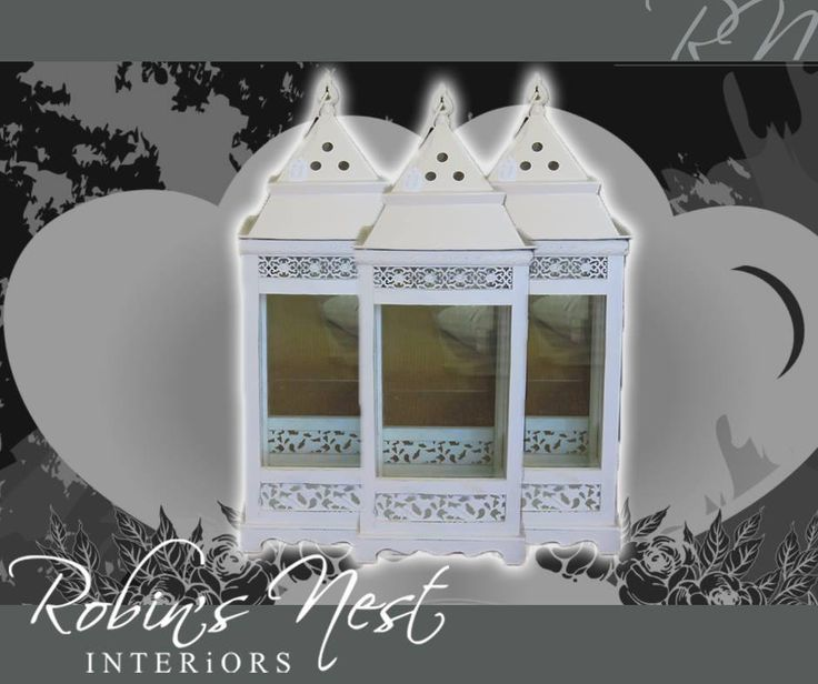 Enjoy a romantic candle-lit dinner on the patio or deck with this stunning lantern from #RobinsNestInteriors. #valentinesday #interiordesign #decor