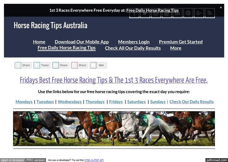 Fridays June 2nd Free Horse Racing Tips