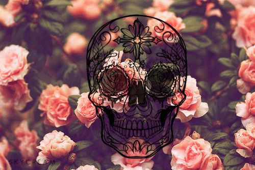 flashing Mexican Skull
