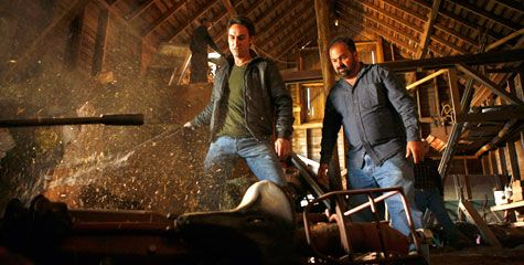 American Pickers, history channel. Would love to go on some of their treasure hunts.