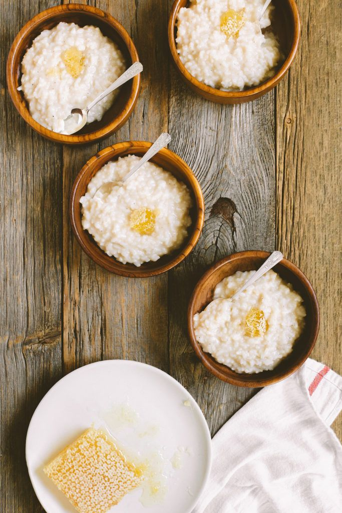 Sweet Toasted Coconut Milk Congee Recipe