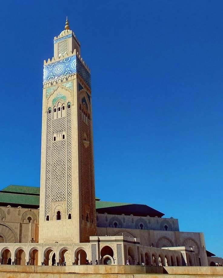 Hassan II Mosque Casablanca Morocco Nenad