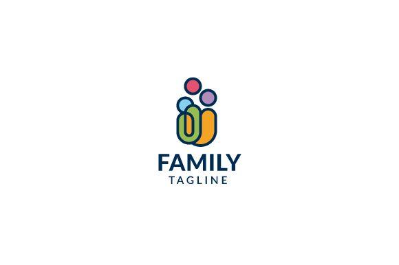 Family Logo by brandphant on @creativemarket